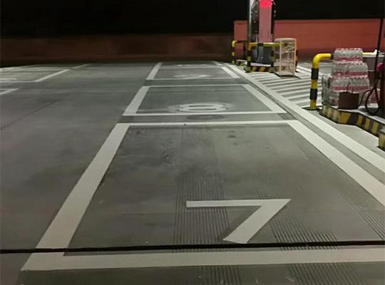 加油站划线